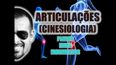 Planos, Eixos e Movimentos nas articulações - Cinesiologia - Anatomia Humana - VideoAula 039