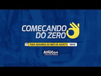 Aula de Língua Portuguesa - Ao Vivo - Prof Giancarla Bombonato - Começando do Zero - AlfaCon