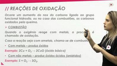 ProENEM - Química - Reações Orgânicas de Oxidação (álcoois)