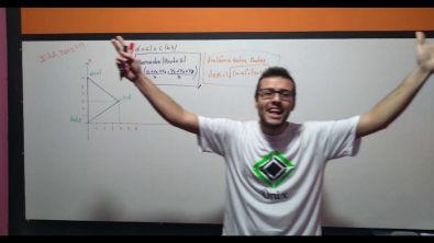 ITA (2012) Sejam A = (0, 0) B = (0, 6) e C = (4, 3), vértices de um triângulo