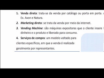 Composto Mercadológico - AULA ATIVIDADE 2 DA UNIVERSIDADE UNOPAR 2019 02