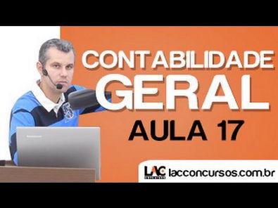 Aula 17/18 - Balanço Patrimonial Estrutura e Classificação no Ativo - Contabilidade Geral - Claudio