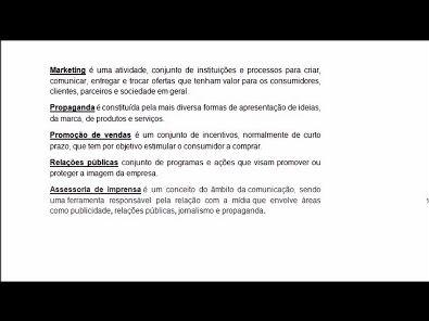 Composto Mercadológico - aula 04 da Universidade Unopar - 2019 02