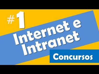 Internet e intranet concursos # 1 - Informática