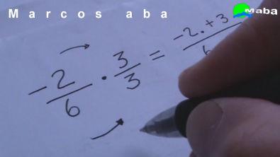 Multiplicação de frações - Matemática