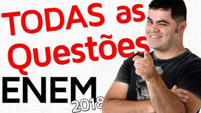 TODAS AS QUESTÕES DE MATEMÁTICA DO ENEM 2018 RESOLVIDAS   Matemática Rio