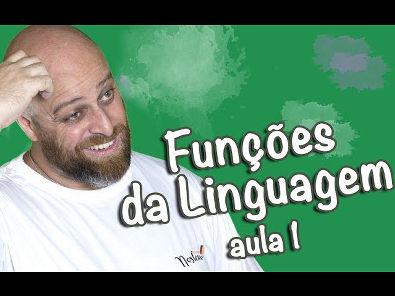 Funções da Linguagem Referencial, Emotiva e Conativa ou Apelativa [Prof Noslen]
