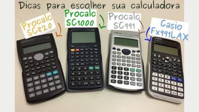 DC-001 Dicas para escolher sua Calculadora Cientifica !!
