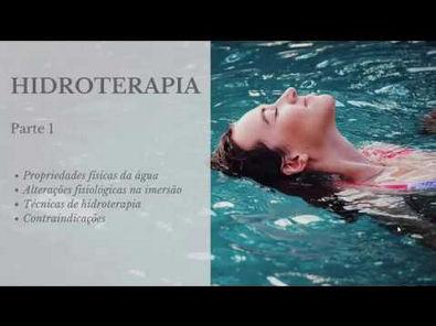 Hidroterapia na Fisioterapia para concursos - Parte 1