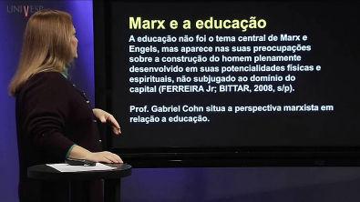 Sociologia da Educação - Aula 1 - Clássicos da Sociologia - Marx