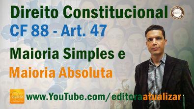 Art. 48 CF - Competência Comum do Congresso Nacional