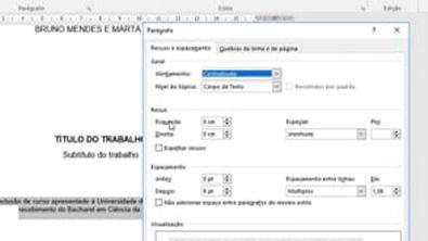 Normas ABNT_ Formatação de Capa, Sumário, Conteúdo, Referências Bibliográficas e Numeração no Word