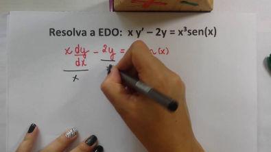 EDO de 1ª ordem - método dos fatores integrantes