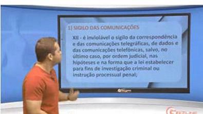 Direito Constitucional - Aula 09 - Intimidade e Privacidade