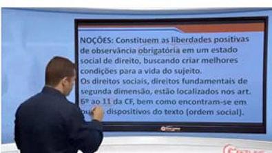 Direito Constitucional - Aula 40 - Direitos Sociais