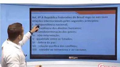 Direito Constitucional - Aula 39 - Princípios Fundamentais