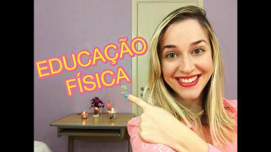 Educação Física - Matérias da Faculdade - Priscila Guedes