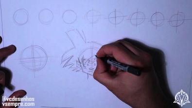 Aula de Desenhos #01 - Treinos e esboços
