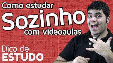 COMO ESTUDAR SOZINHO COM VIDEOAULAS?   Matemática Rio
