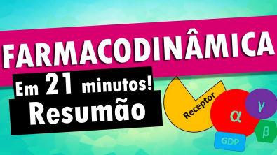 FARMACODINÂMICA em 21 minutos! - Farmacologia