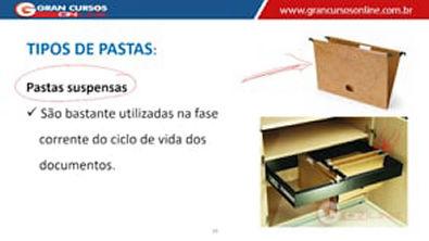 11 - Arquivamento e Ordenação de Documentos - Modelos e Tipos de Pasta