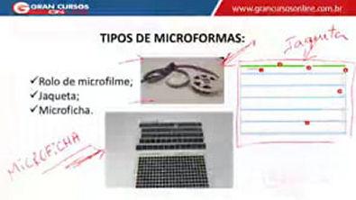 13 - Arquivamento e Ordenação de Documentos - Microfilmagem de Documentos
