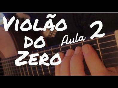 """Como Tocar a Primeira Escala? Os Primeiros Acordes? """"Violão do Zero"""" com Fabio Lima (Aula 2)"""
