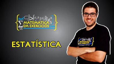 Estatística (Média, Mediana, Moda, Variância e Desvio Padrão) - Prof Gui