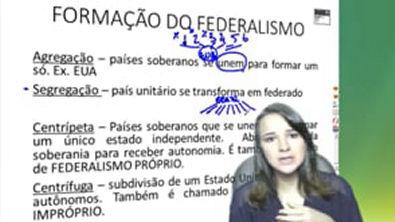 formação do federalismo