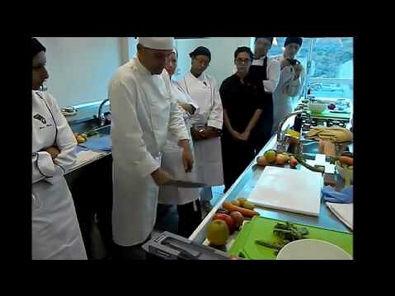 1º Aula de Gastronomia!