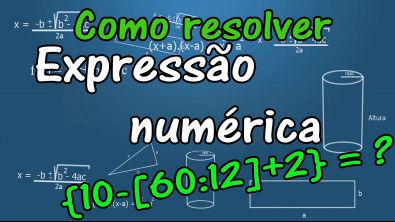 Como resolver expressões numéricas