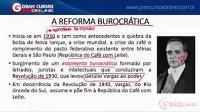 2 - Evolução da Administração Pública - Reformas de Estado - Burocracia