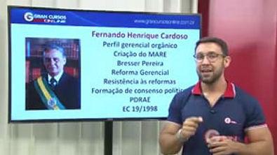 5 - Evolução da Administração Pública Rumo do Gerencialismo - PDRAE