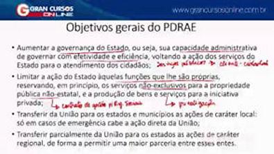 6 - Evolução da Administração Pública Gerencialismo e PDRAE