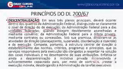 4 - Evolução da Administração Pública Reforma do DL 20067 e ao Gerencialismo