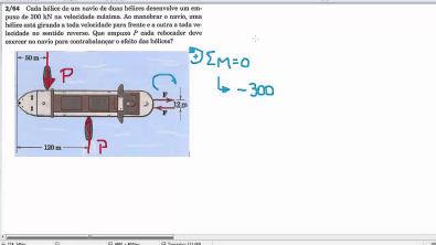 Mecânica dos Sólidos - Momento de Binário (2)