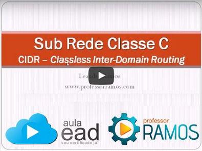 SubRede - Subnet IP de Classe C - Como calcular Subredes - CCNA - MCP - www professorramos com