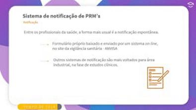 Direto ao Ponto: Notificação de PRM's