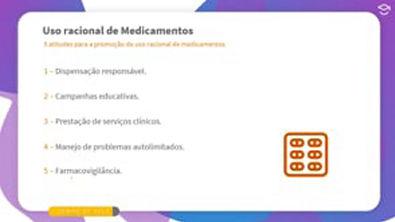Direto ao Ponto: 5 atitudes para a promoção do uso racional de medicamentos