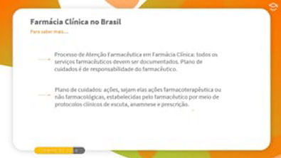 Direto ao Ponto: Mais sobre a Farmácia Clínica no Brasil