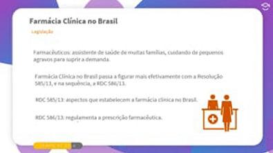 Direto ao Ponto: Legislação da Farmácia Clínica no Brasil