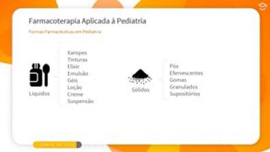 Direto ao Ponto: Formas Farmacêuticas em Pediatria