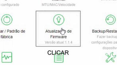 Atualizar o firmware Intelbras Action RG1200