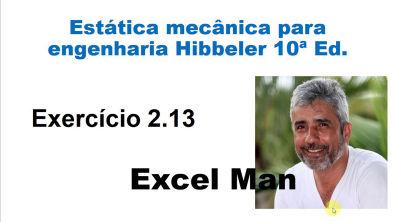 2 13 - Estática Mecânica para Engenharia Hibbler - 10ª Ed