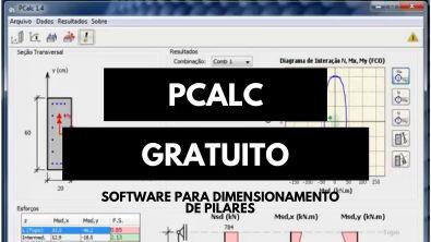 Pcalc- Programa Gratuito para o dimensionamento de pilares