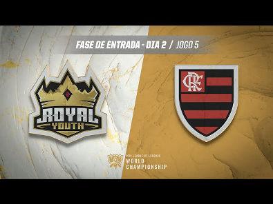 Mundial 2019: Fase de Entrada - Dia 2   Royal Youth x Flamengo eSports (Jogo 5)