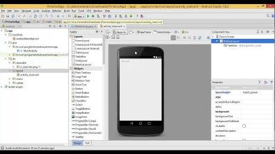 Primeiro App no Android utilizando o Android Studio