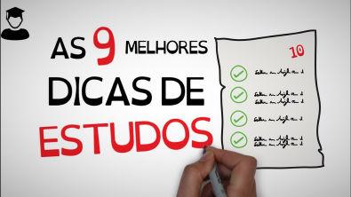 ESTUDE DE FORMA EFICIENTE | AS 9 MELHORES DICAS DE ESTUDO | Seja Um Estudante Melhor