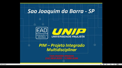 PIM -Projeto Integrado Multidisciplinar - Passo01