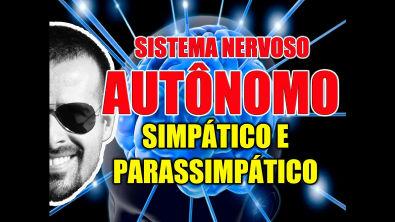 Sistema Nervoso Autônomo Simpático e Parassimpático: Anatomia e Farmacologia - Vídeo Aula 098
